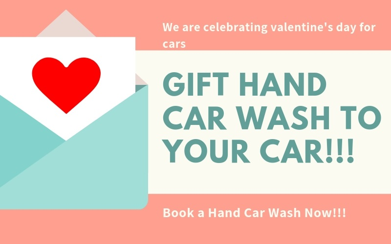 GIFT HAND CAR WASH TO YOUR CAR, rapidewash